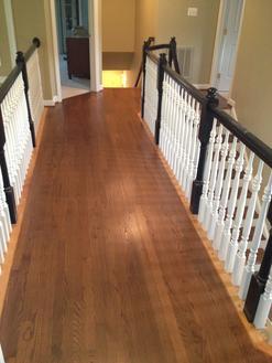 Graham 39 s superior hardwood floors llc for Hardwood floors upstairs
